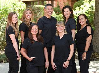 our Centennial dental team